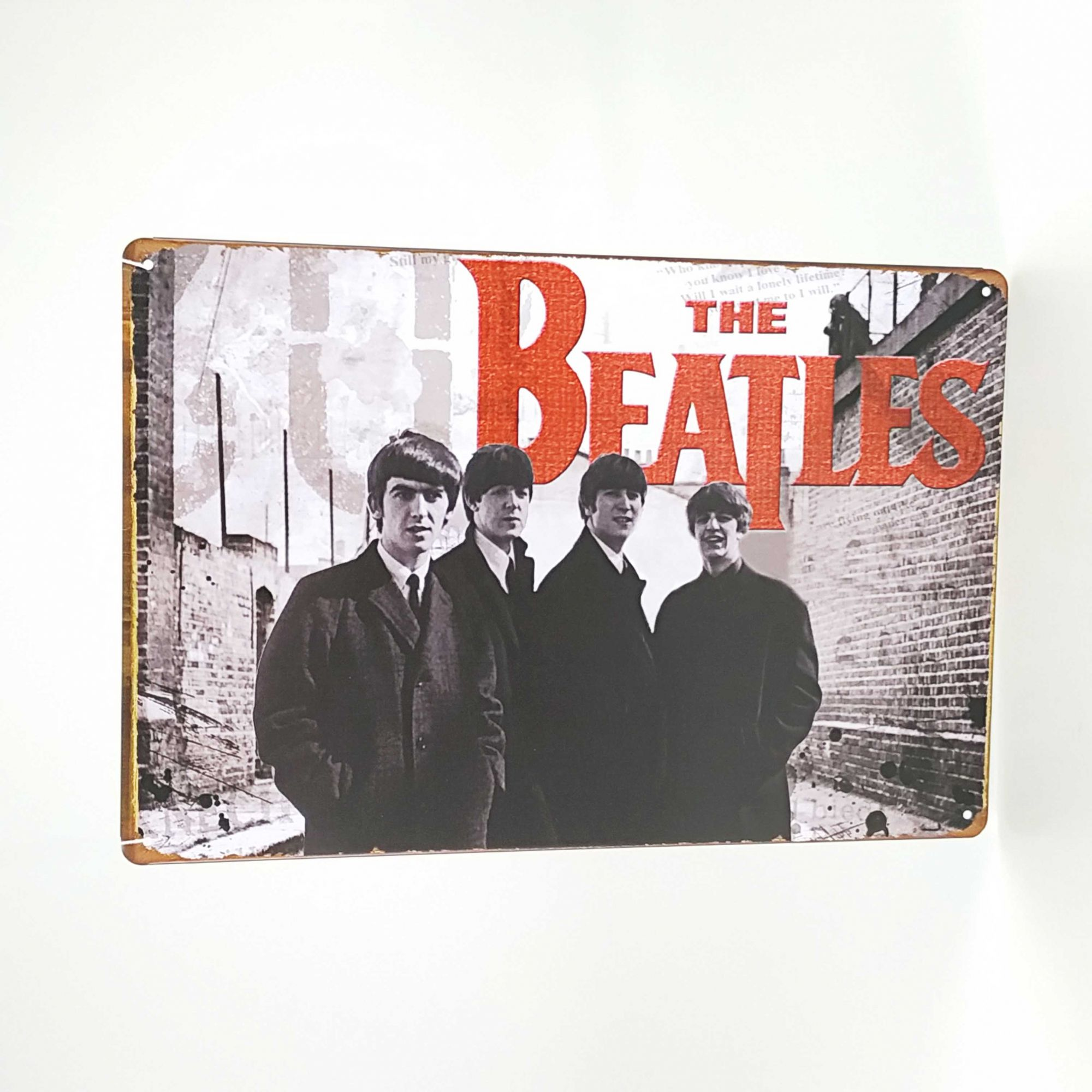 Placa 20 x 30 THE BEATLES 3221