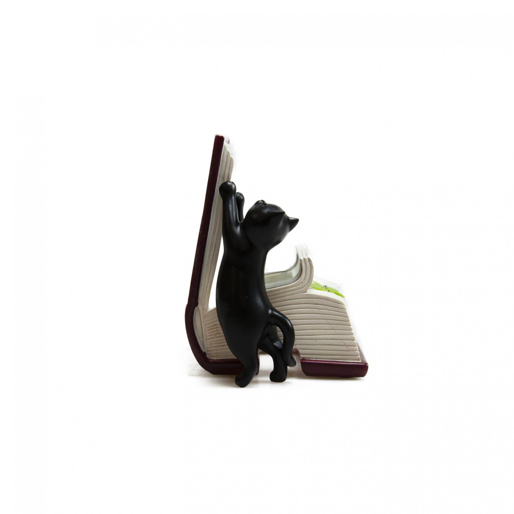 Porta Cartão Gato 11,5 x 10 x 8,5 cm