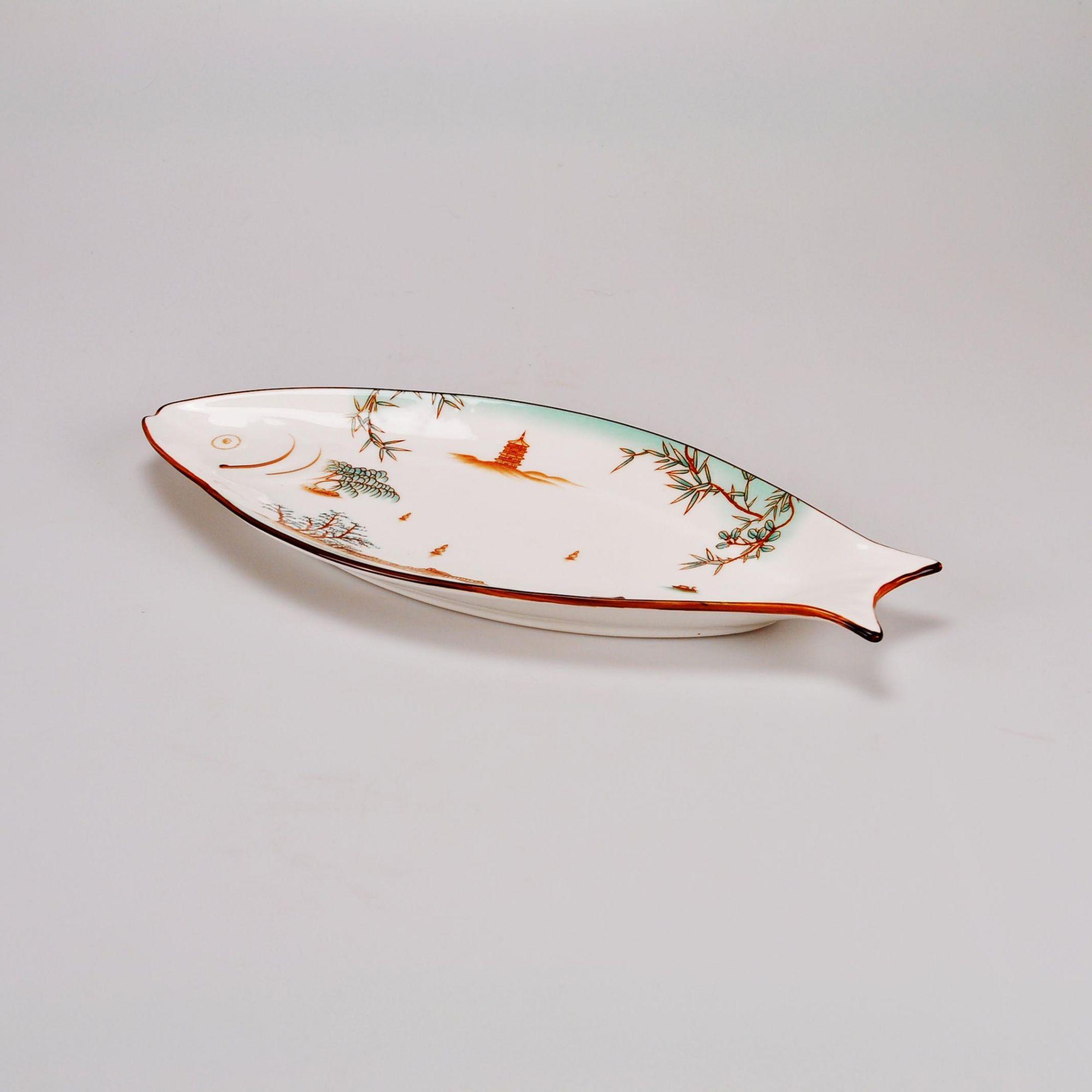 Prato de Cerâmica 38 x 17 cm
