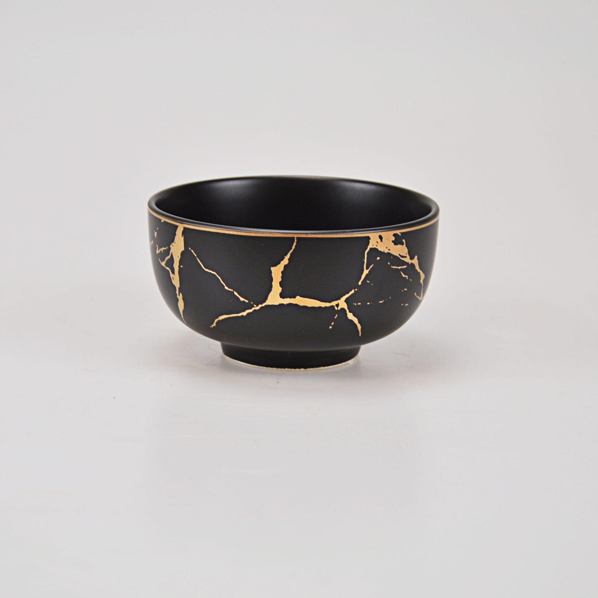 Tigela Cerâmica 11,5 x 6,5 cm (Dispon. duas cores)