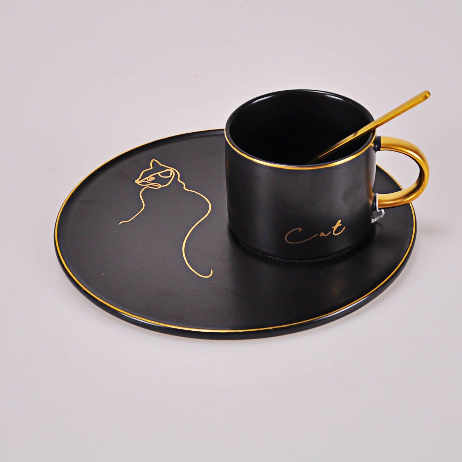 Xícara de Cerâmica com Píres- Gato