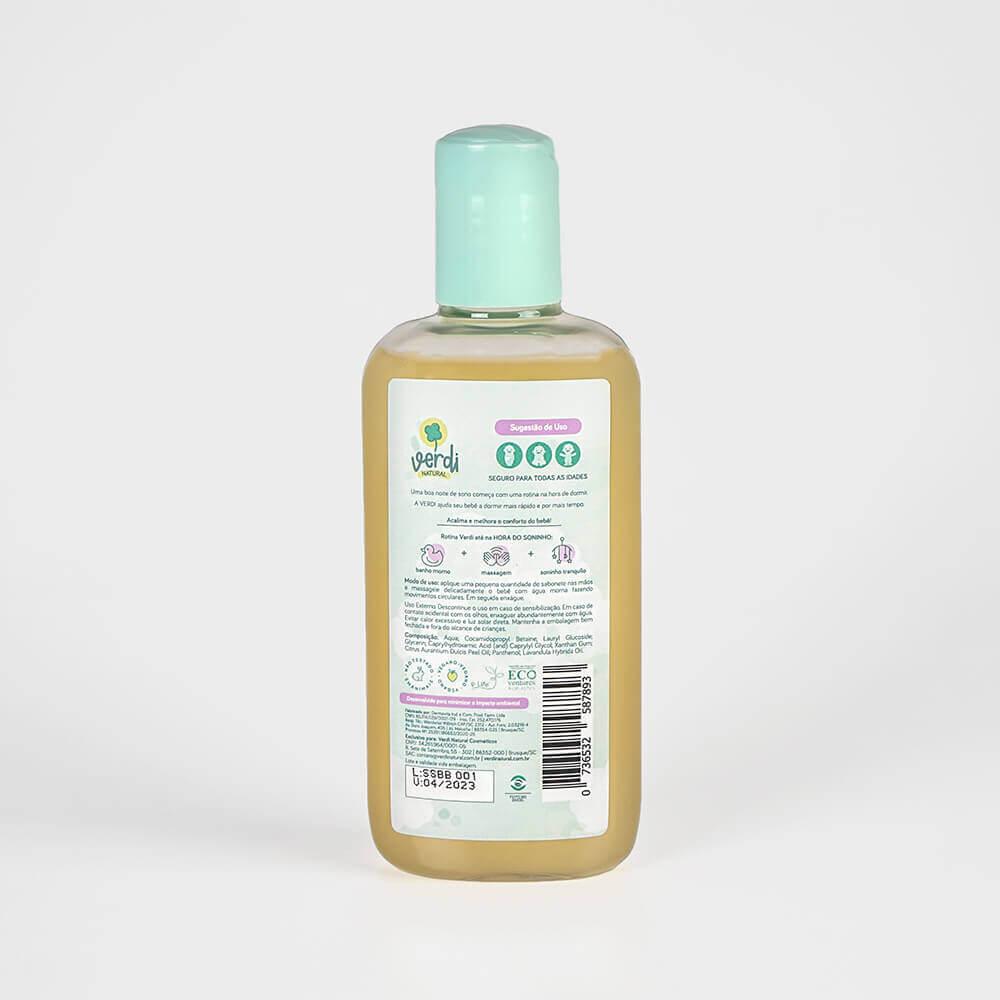 Banho do Bebê e Ecobag Impermeável - Kit com 2 sabonetes líquidos 100% Natural e 1 Ecobag Impermeável