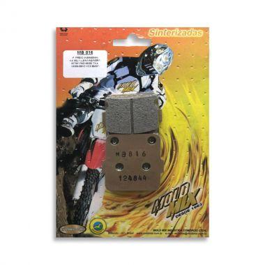 Pastilha De Freio Sinterizada MB816- Honda - Suzuki - Yamaha Tras ou Diant