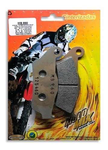 Pastilha de freio moto sinterizada MB960 Ktm Sx 125 Diant.  - Loja Moldmix
