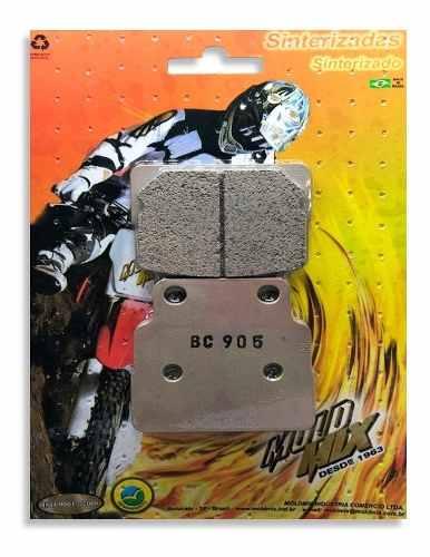 Pastilha De Freio Moto Bc905 Honda Cb-dx-k 450 89-92  - Loja Moldmix