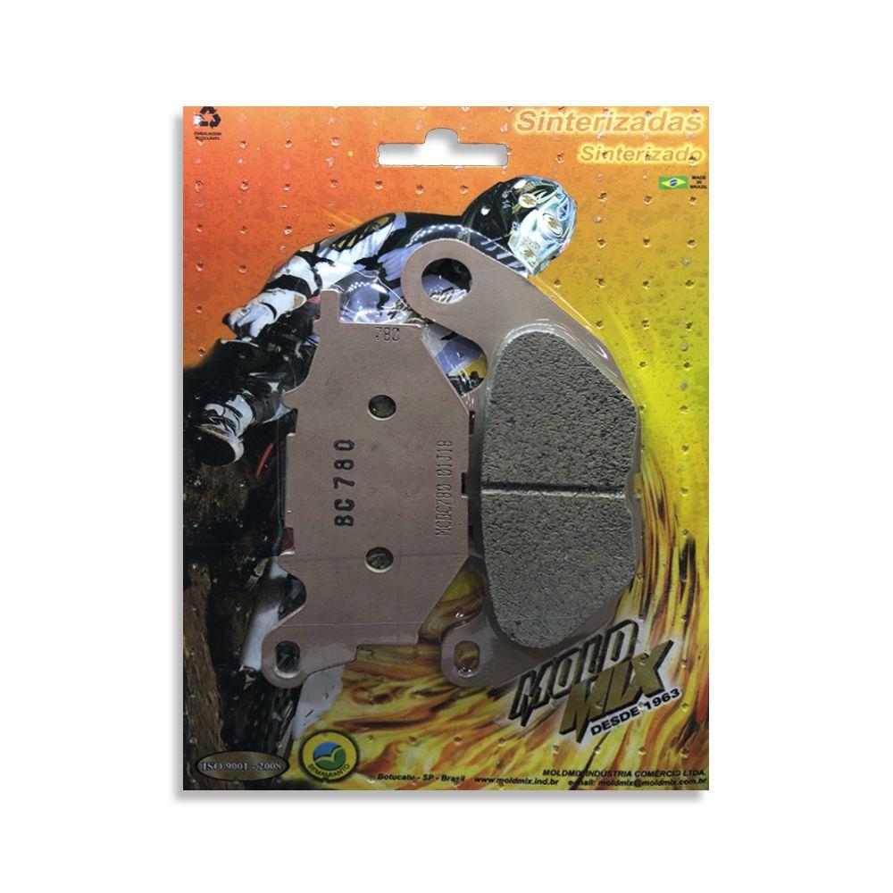 Pastilha De Freio Sinterizada Yamaha MT-03 Dianteira  - Loja Moldmix