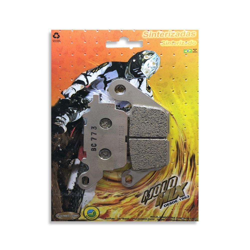 Pastilha De Freio Sinterizada Yamaha - NMax 160  - Loja Moldmix
