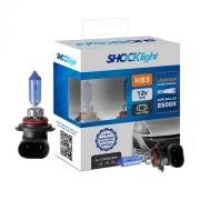 KIT LAMPADA SUPER BRANCA 12V 8500K 65W SHOCKLIGHT HB3 9005