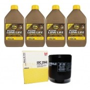 Kit Troca Oleo E Filtro Gol G4 Fox Polo Mahle Bardahl 15W40