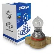 LAMPADA FAROL BIODO H16 12V 24W (ENCAIXE RETO)