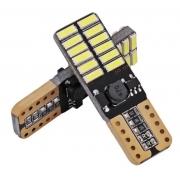 LAMPADA LED PINGAO 24 LED C/CANBUS (PAR)