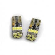 LAMPADA LED T10 - 15 SMD 4014 C/CANBUS (PAR)