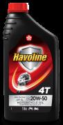 ÓLEO PARA MOTOR HAVOLINE 4T 20W50 (ÓLEO PARA MOTO) 1L