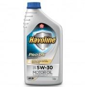 OLEO PARA MOTOR HAVOLINE 5W30 PRO DS API SN (MOTOR FLEX) SINT (UN)