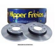 PAR DISCO FREIO HIPPER HF03 KOMBI CLIPPER 82/ SOLIDO DIANT