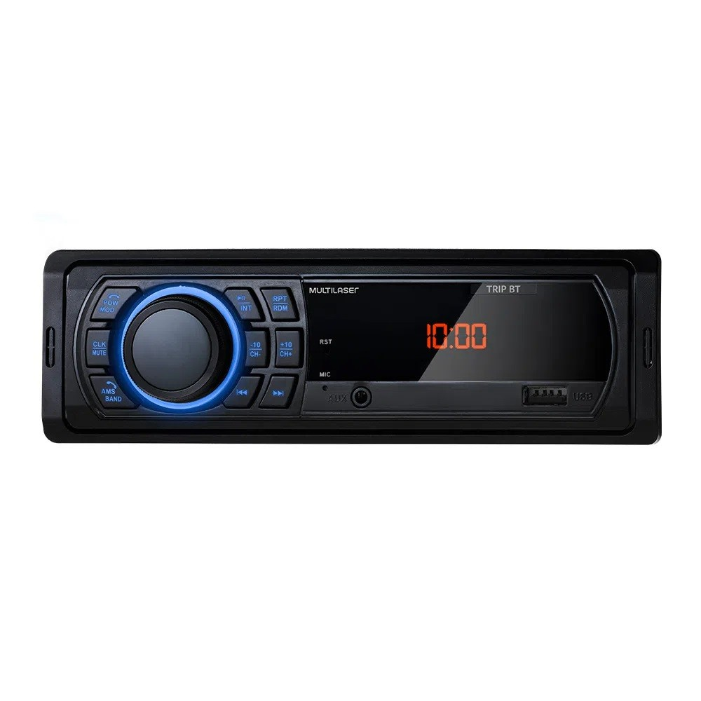 APARELHO SOM AUTOMOTIVO CARRO RADIO BLUETOOTH FM SD USB AUX