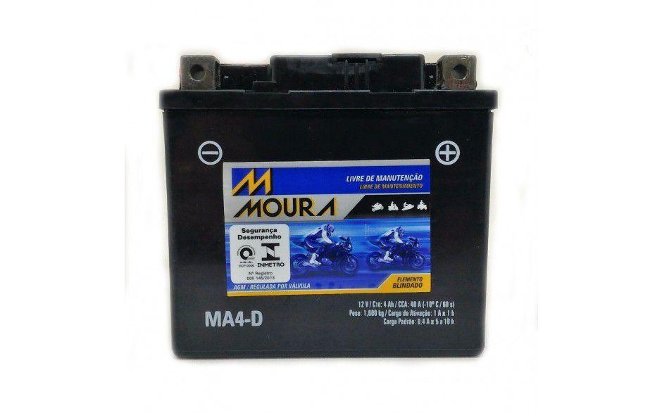 BATERIA MOURA MOTO MA4-D