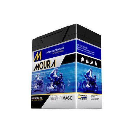 BATERIA MOURA MOTO MA6-D