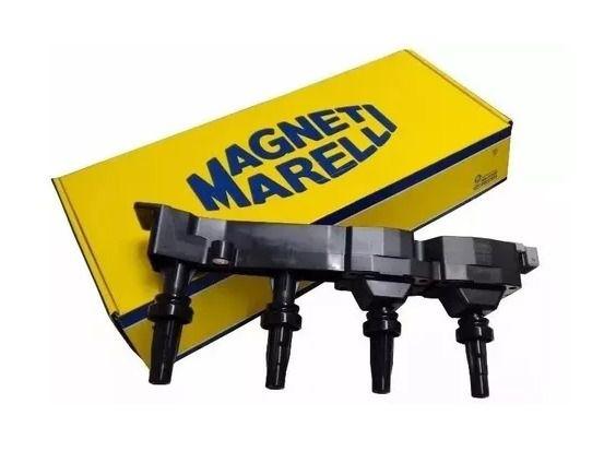 BOBINA DE IGNIÇÃO MAGNETI MARELLI BI0031MM PEUGEOT 206 1.4/1.6 16V/C3/PICASSO 1.6 16V (