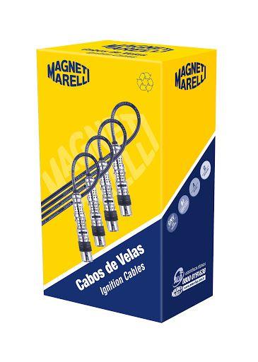 CABOS DE VELAS MAGNETI MARELLI CVMV3002 GOL/PARATI/SAVEIRO 1.6 8V 03/1.8 8V 05/ TOTAL FLEX
