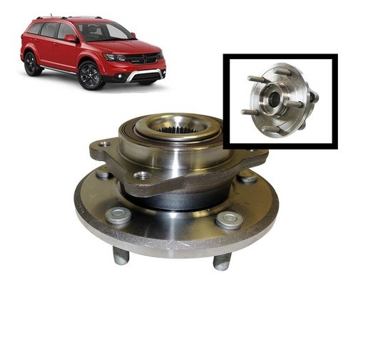 Cubo De Roda Dianteiro Fiat Freemont 2.4 Dodge Journey 2.7