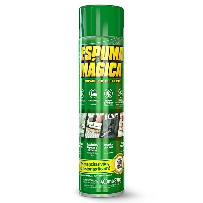 ESPUMA MAGICA SPRAY PROAUTO 400ML/370G