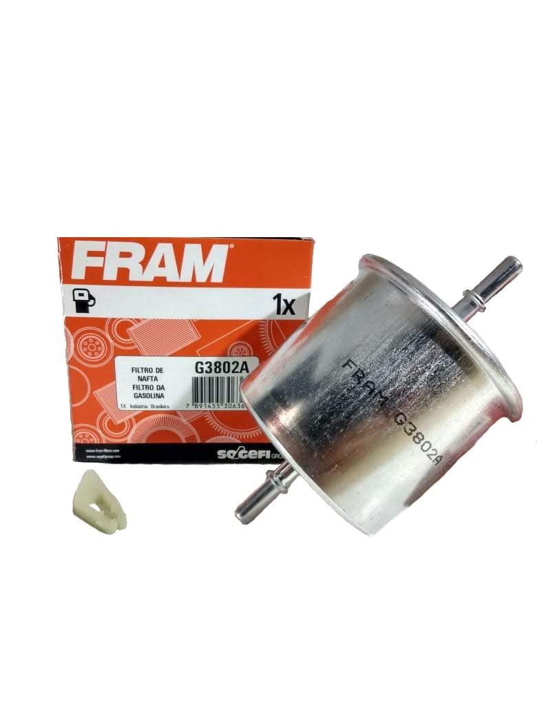 FILTRO COMBUSTIVEL  FRAM FORD/VW C/INJ ELETRONICA (BLINDADO)