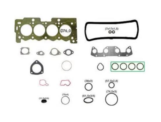 JOGO JUNTA MOTOR C3/207/208 1.5 S/RETENTORES (ENC)