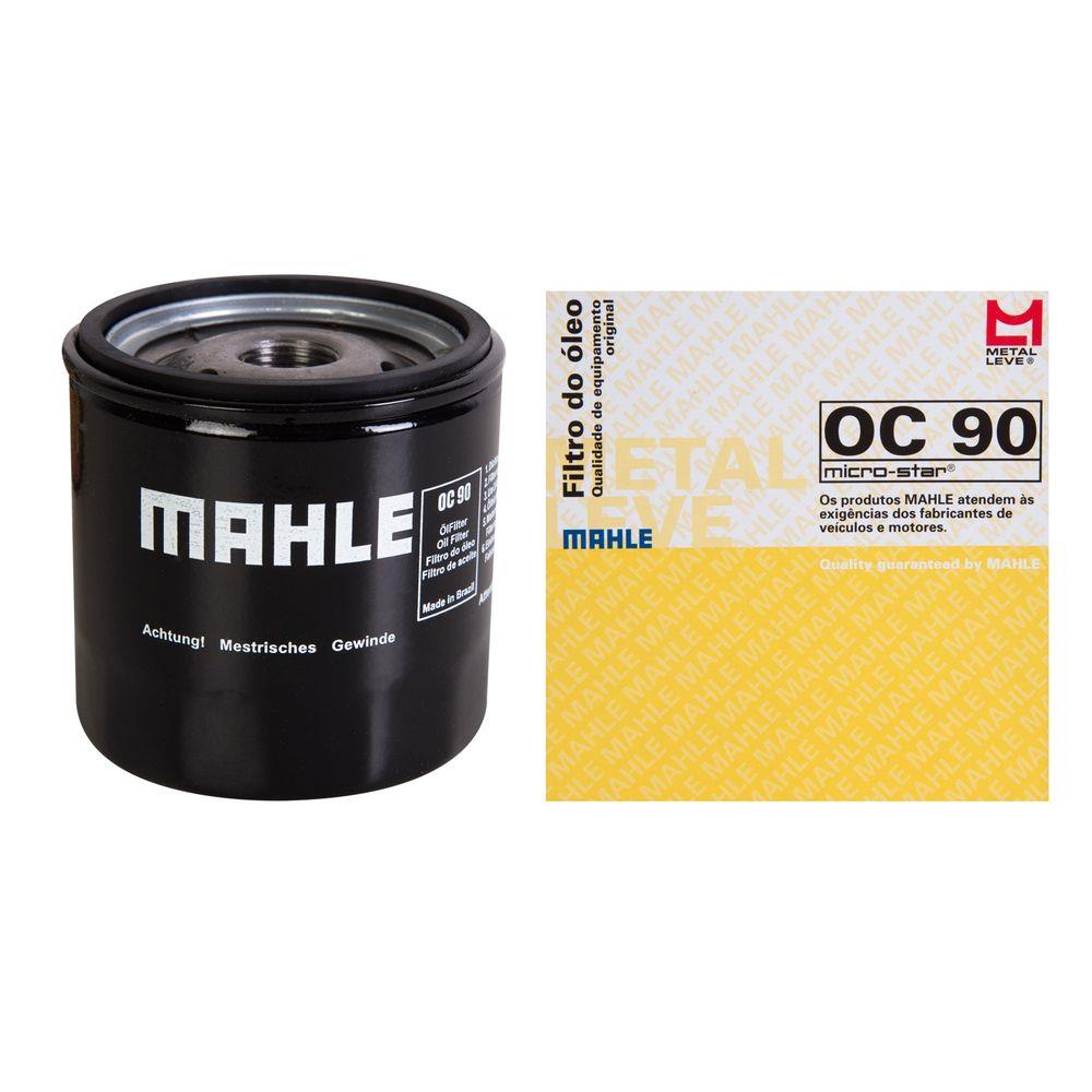 Kit Troca Filtros E Oleo ACDelco Mahle Prisma Celta 5W30