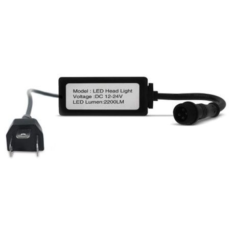 KIT LAMPADA LED HEADLIGHT LEDCAR H4 6000K 12V 35W 3200LM PAR