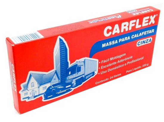 MASSA PARACALAFETAR 350G (CINZA/PRETA) CARFLEX
