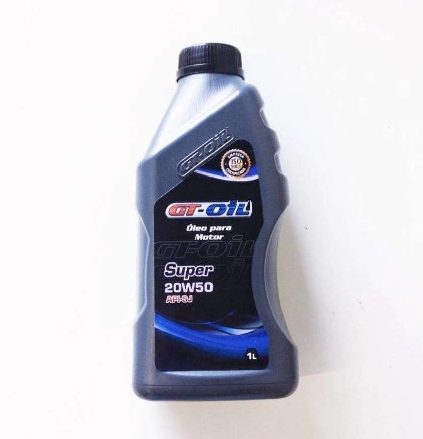 OLEO PARA MOTOR GT OIL SUPER SL 20W50  API SL MINERAL (UN)