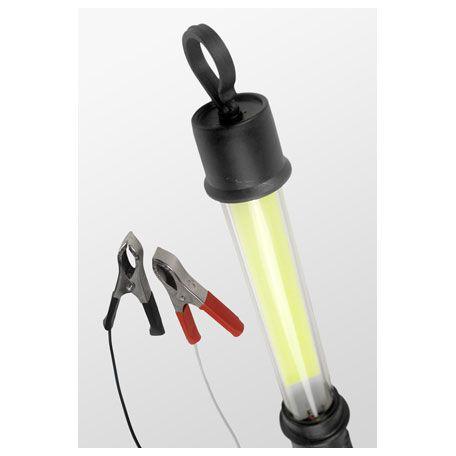 LAMPADA RABICHO LED PLUG DE BATERIA 12V 24V BRANCO 5 METROS