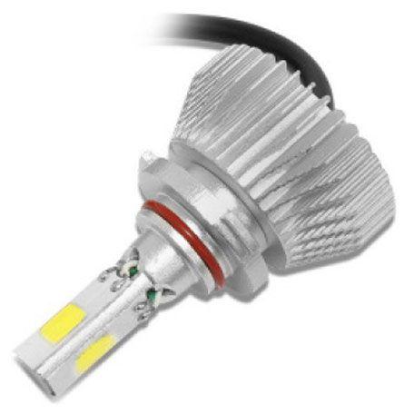 KIT LAMPADA POWERLED 3D 9006 HB4 6000K 12V E 24V 50W 4500LM