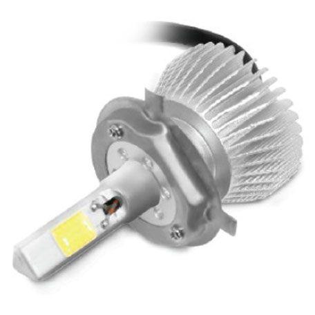 KIT LAMPADA POWERLED 3D H4 6000K 12V E 24V 50W 4500LM