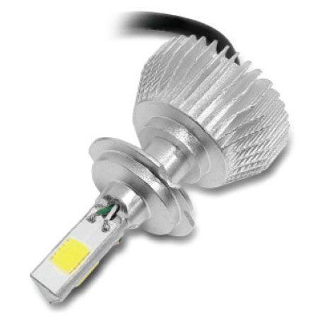 KIT LAMPADA POWERLED 3D H7 6000K 12V 24V 4500LM LEVE/ PESADO