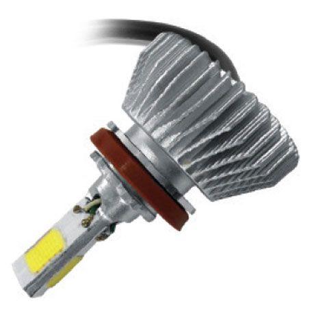 KIT LAMPADA POWERLED 3D H8 H16-2 6000K 12V 24V 4500LM PAR