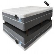 Colchão de látex articulado cinza 20cm
