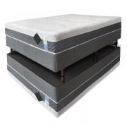Colchão de látex articulado cinza 25cm