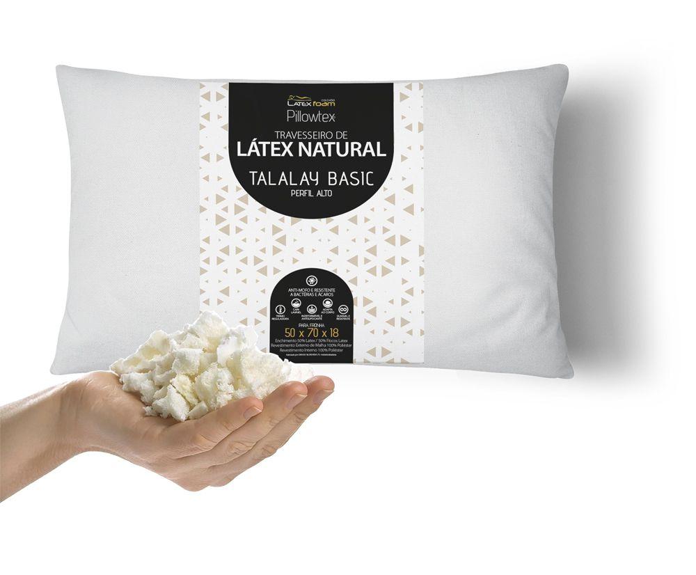 Travesseiro de Látex Basic Perfil Alto