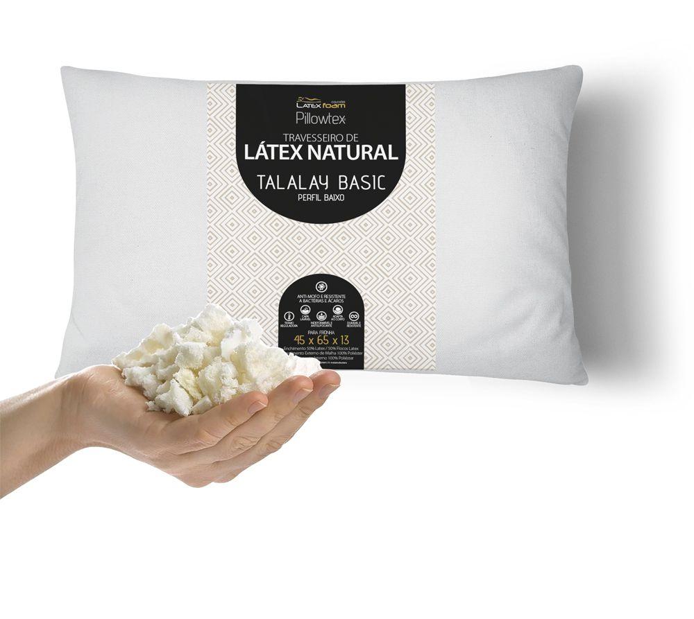 Travesseiro de Látex Basic Perfil Baixo