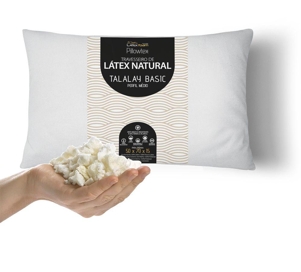 Travesseiro de Látex Basic Perfil Médio