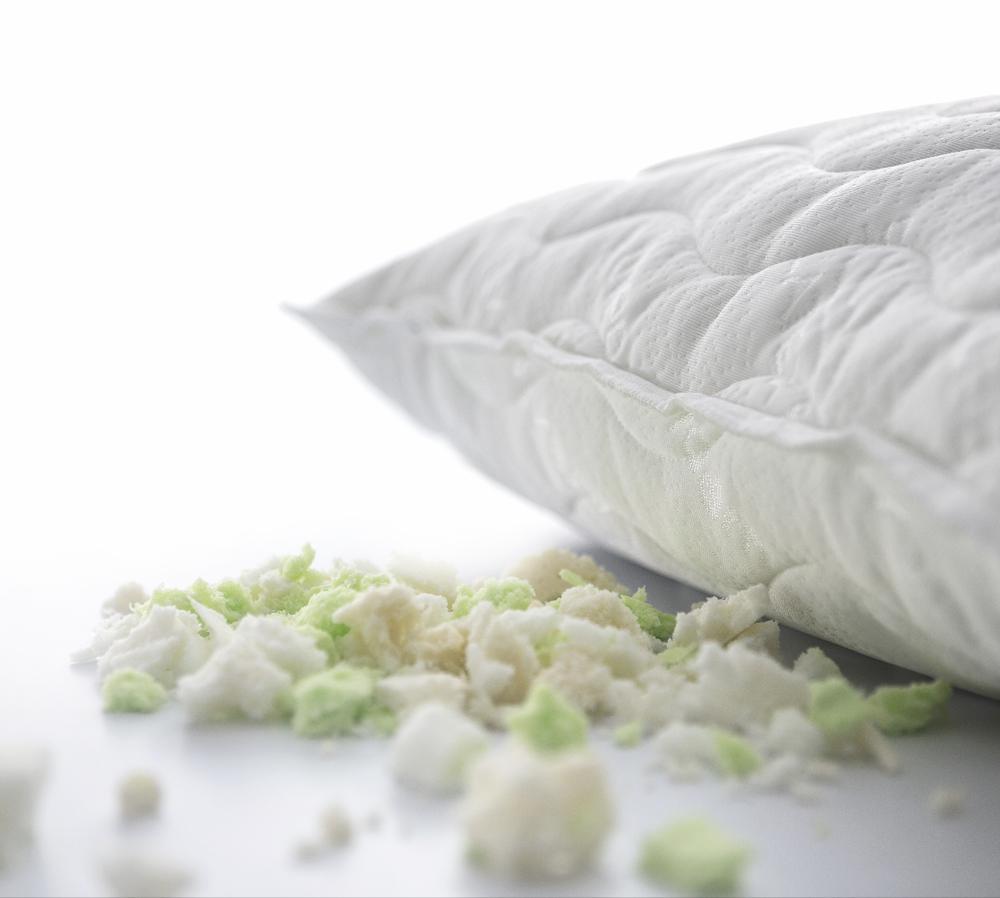 Travesseiro de Látex em flocos Médio