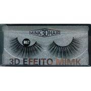 Cílios Postiços 3D Efeito Mimk M67 Real Love