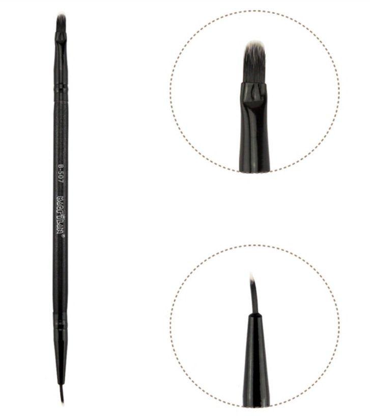 Pincel Duplo para Batom ou para Delinear B507 Macrilan