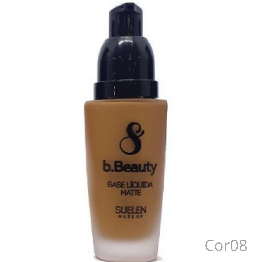 Base Líquida Matte Oil Free b.Beauty Suelen Makeup