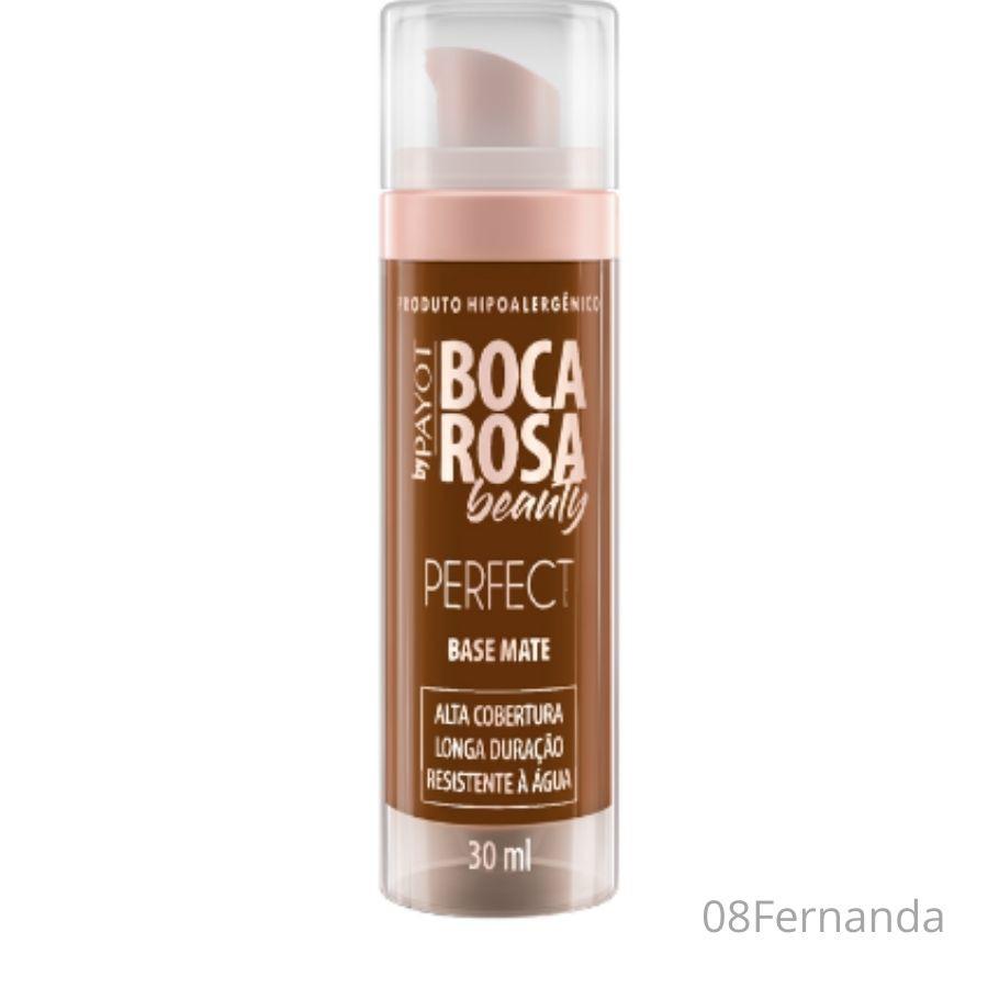 Base Mate Hd Boca Rosa Beauty Payot