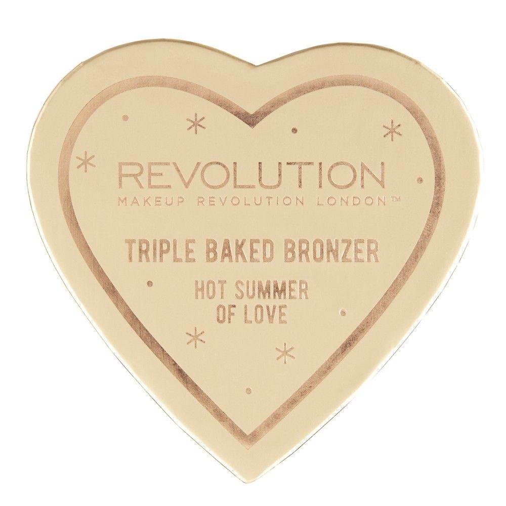 Bronzer Iluminador de Coração Makeup Revolution