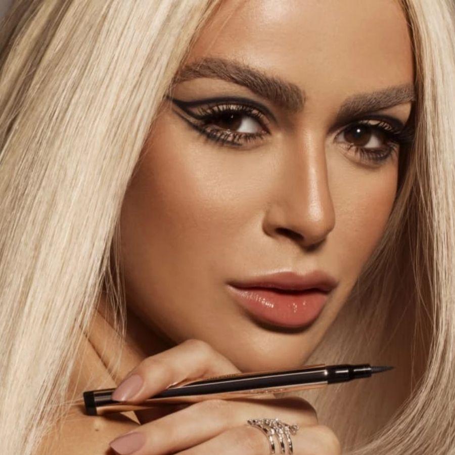 Caneta Delineadora Eyeliner Real Black Mariana Saad