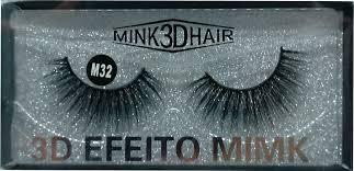 Cílios Postiços 3D Efeito Mimk M32 Real Love